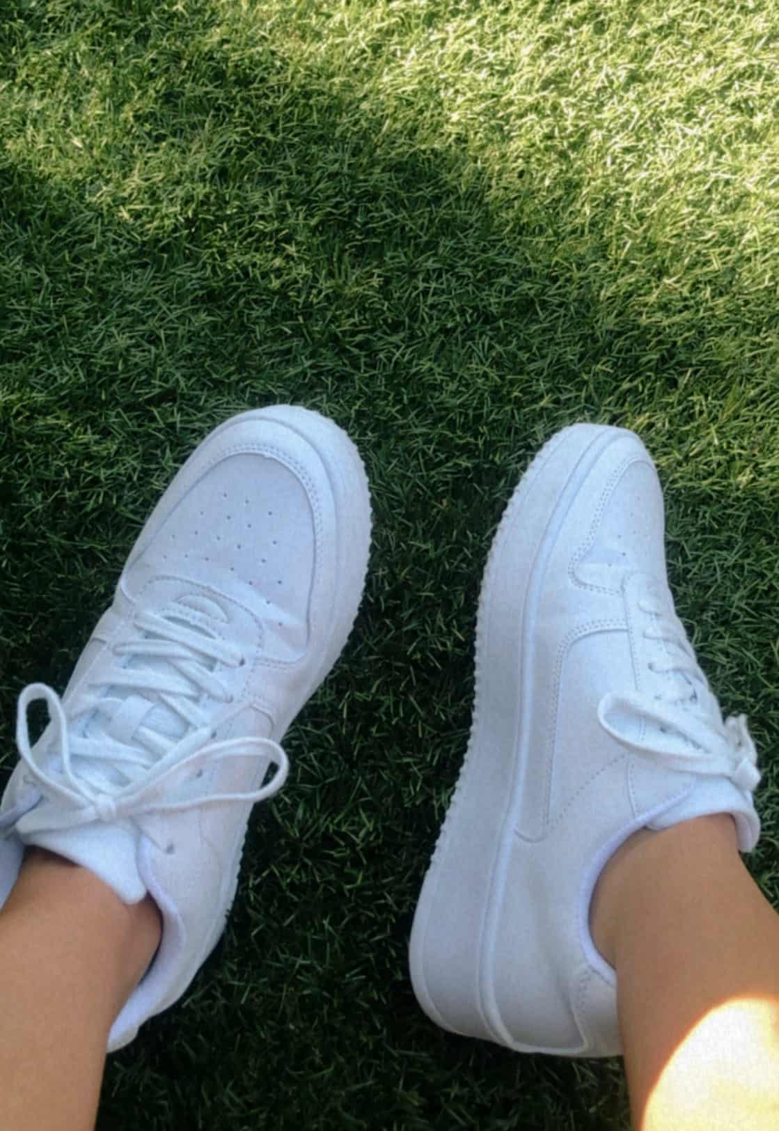 The $14 AirForce 1 Dupe From Walmart - Camila Vilas